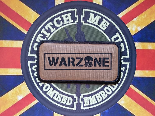 WARZONE PATCH BROWN