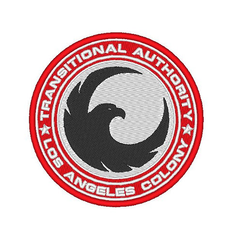 TV/ MOVIE - COSPLAY PATCH - COLONY , TRANSITIONAL AUTHORITY