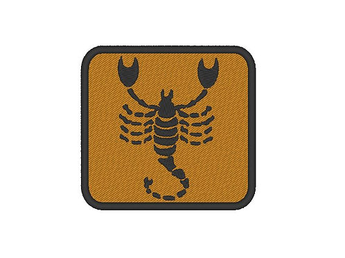 EMBROIDERED SCORPIO PATCH - ZODIAC COLLECTION