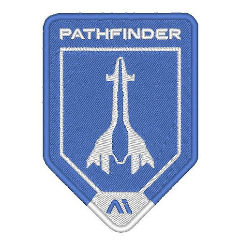 EMBROIDERED MASS EFFECT ANDROMEDA INITIATIVE PATHFINDER V2