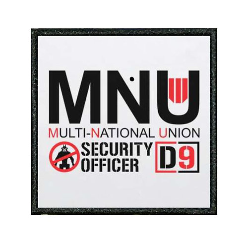 THERMAL VINYL PATCH -DISTRICT 9 MNU SECURITY