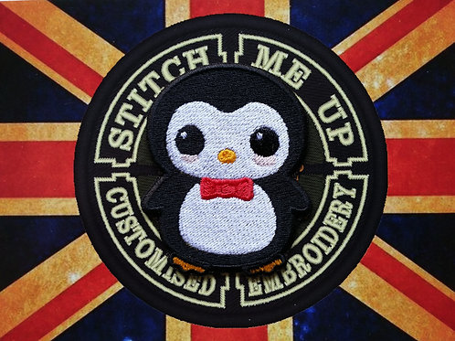 KAWAII - COLLECTABLE EMBROIDERED PENGUIN