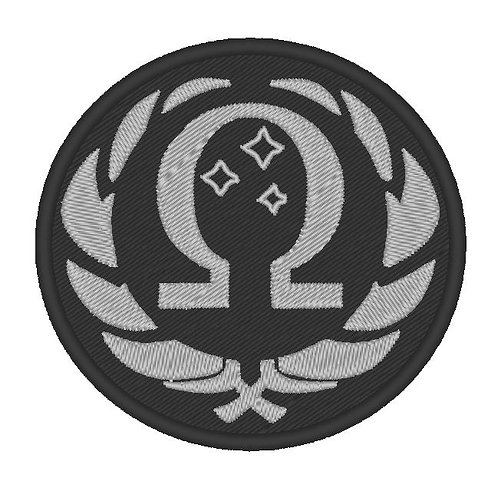 GAME - COSPLAY PATCH -SOMA OMEGA BADGE