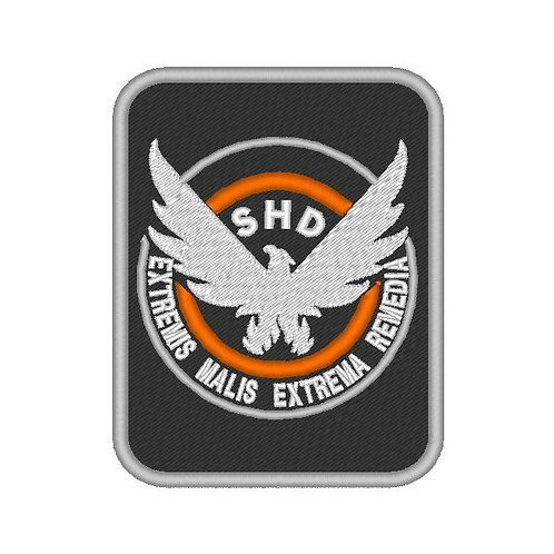 "EMBROIDERED PATCH ""SHD"" DIVISION PATCH V3"