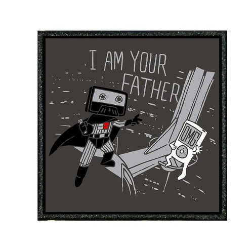 THERMAL VINYL PATCH - STAR WARS I AM YOUR FATHER