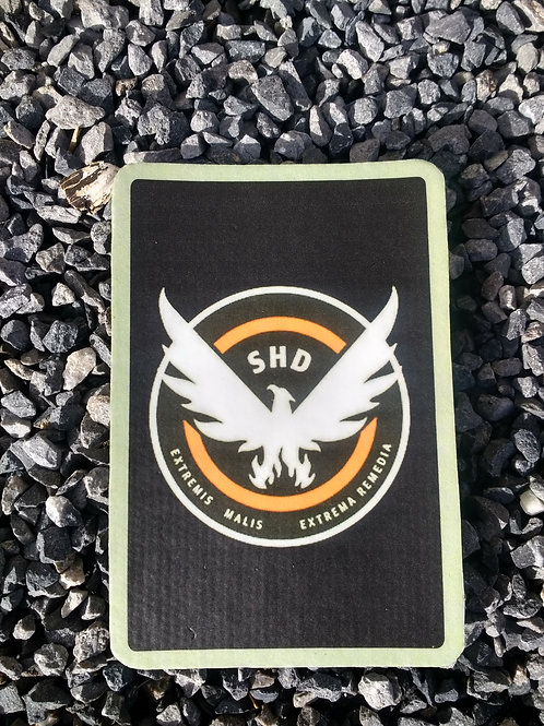 THE DIVISION AGENT PATCH - STANDARD DEFAULT