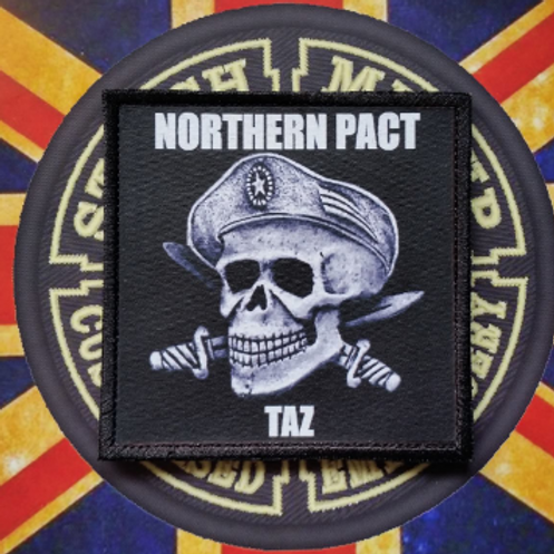 OFFICIAL NORTHERN PACT PERSONALISED PATCH