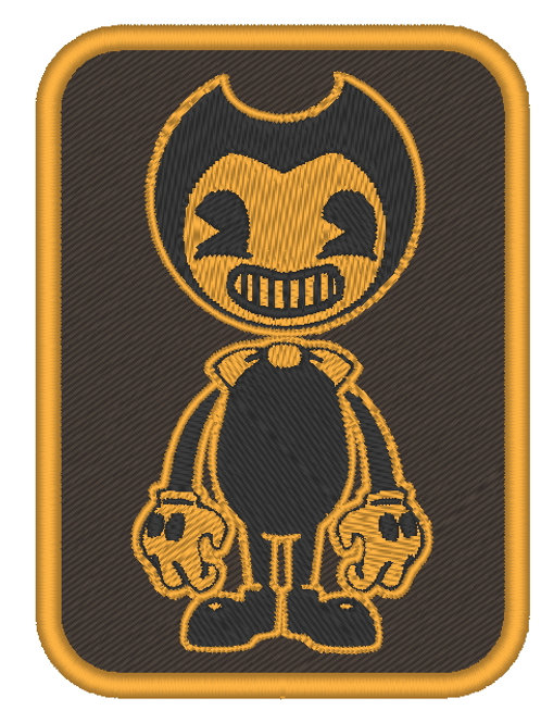 GAME - COSPLAY PATCH -BENDY AND THE INK MACHINE FULL BODY