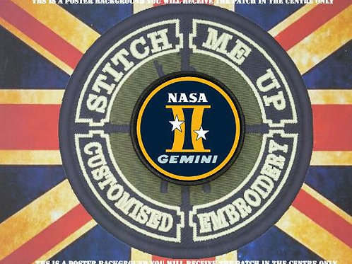 NASA MISSION PATCH - GEMINI PROGRAM