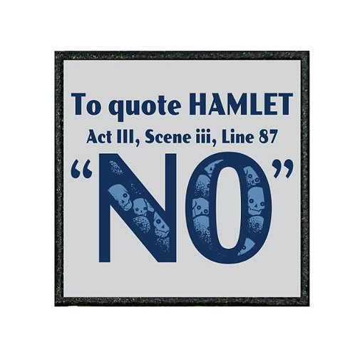 THERMAL VINYL PATCH - HAMLET - NO