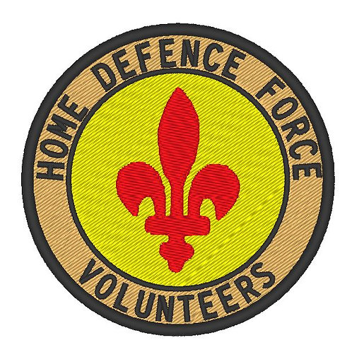 HOME DEFENCE FORCE VOLUNTEERS DORSET DIVISION PATCH