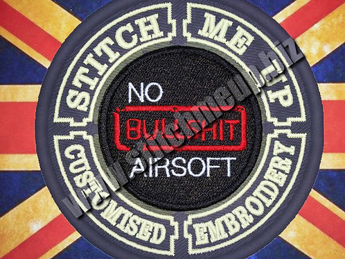 NO BULLSHIT AIRSOFT PATCH