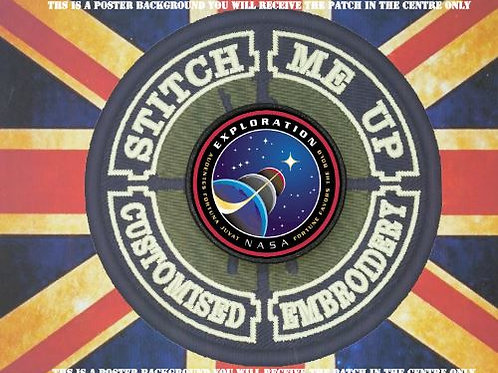 NASA PATCH - EXPLORATION MISSION PATCH