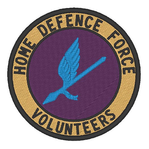 HOME DEFENCE FORCE VOLUNTEERS PATCH 92ND DIVISION
