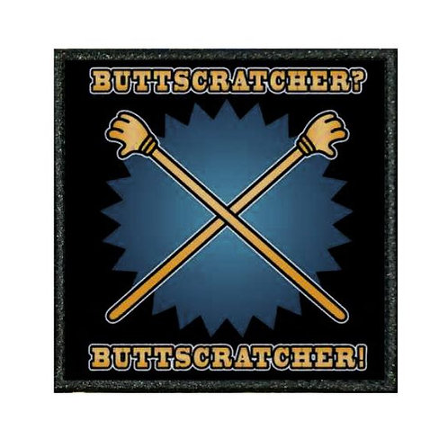THERMAL VINYL PATCH - FAMILY GUY BUTTSCRATCHER