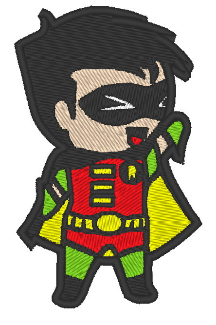 EMBROIDERED MORALE PATCH -CHIBI ROBIN