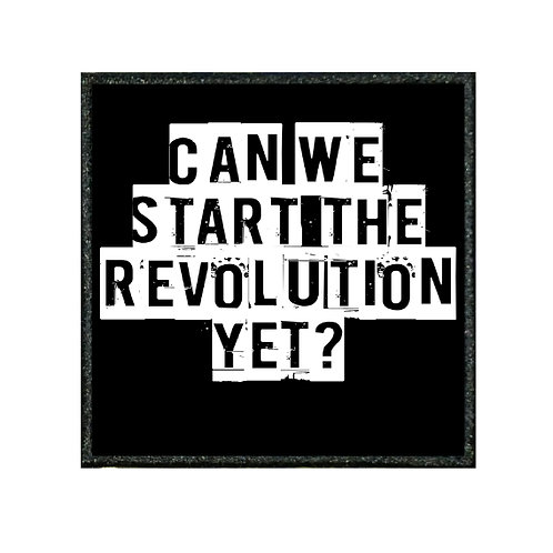 THERMAL VINYL PATCH - START THE REVOLUTION