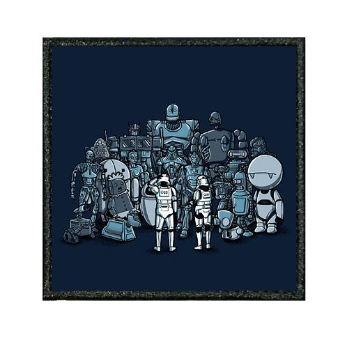 THERMAL VINYL PATCH - STAR WARS NOT THE DROIDS WE ARE LOOKING FOR