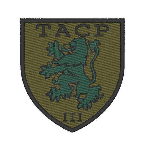 CUSTOM TEAM PATCH -TACP III