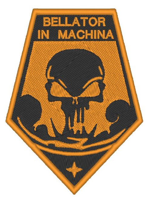 EMBROIDERED XCOM - BELLATOR IN MACHINA