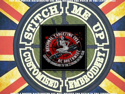 MORALE PATCH - 72 VIRGINS DATING CLUB