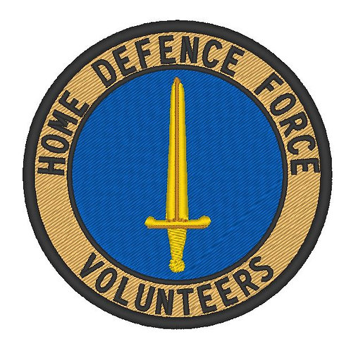 HOME DEFENCE FORCE VOLUNTEERS PATCH CHESHIRE DIVISION