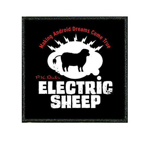THERMAL VINYL PATCH - BLADE RUNNER ELECTRIC SHEEP