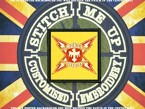 STARSHIP TROOPERS PATCH - MOBILE INFANTRY