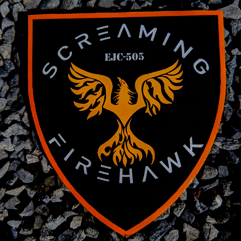 SCREAMING FIREHAWK PATCH FOR FANS OF THE EXPANSE
