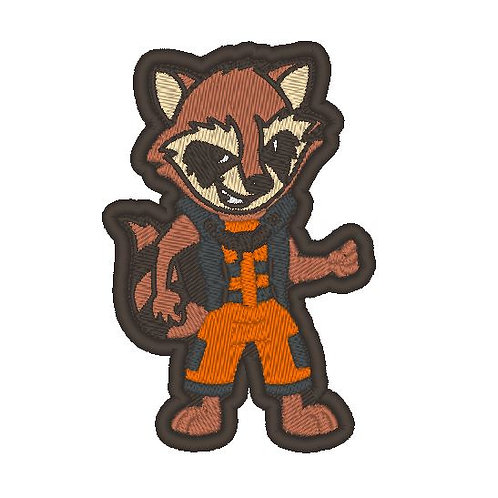 TV/ MOVIE - COSPLAY PATCH - GUARDIANS OF THE GALAXY ROCKET
