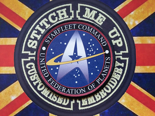 STARFLEET COMMAND - STAR TREK PATCH