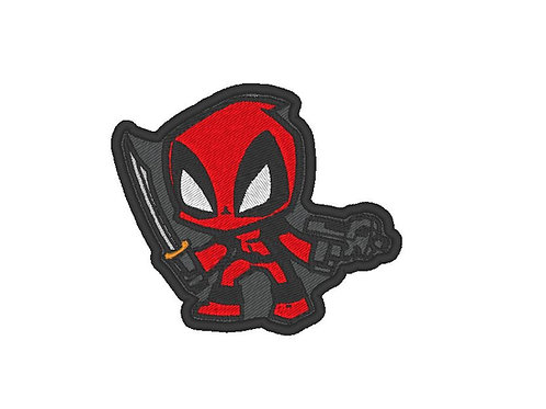 TV/ MOVIE - COSPLAY PATCH - DEADPOOL CHIBI STYLE