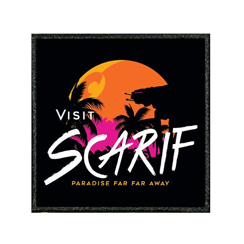THERMAL VINYL PATCH - STAR WARS VISIT SCARIFF
