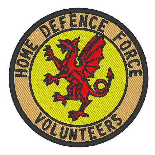 HOME DEFENCE FORCE BRISTOL & SOMERSET DIVISION PATCH