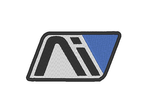 EMBROIDERED MASS EFFECT ANDROMEDA AI LOGO