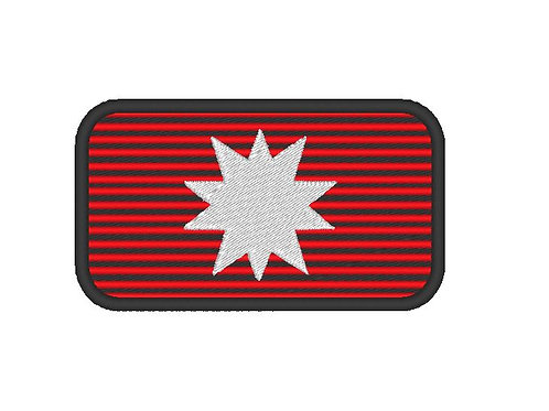 TV/ MOVIE - COSPLAY PATCH - THE EXPANSE MARS FLAG