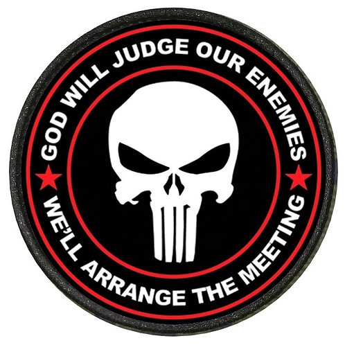 MORALE PATCH - GOD WILL JUDGE