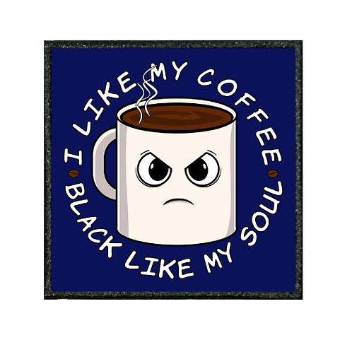 THERMAL VINYL PATCH - I LIKE MY COFFEE