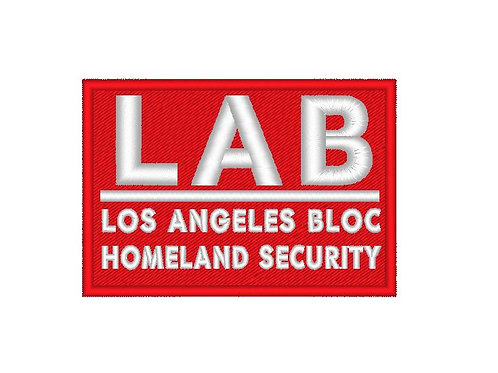 TV/ MOVIE - COSPLAY PATCH - COLONY , LOS ANGELES BLOC