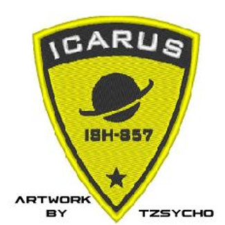 TV/ MOVIE - COSPLAY PATCH - THE EXPANSE ICARUS SPACESUIT