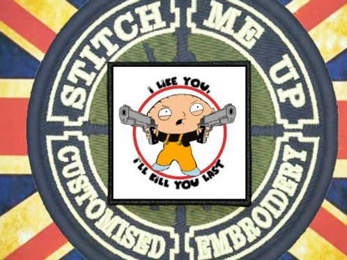 FAMILY GUY STEWIE PATCH V2