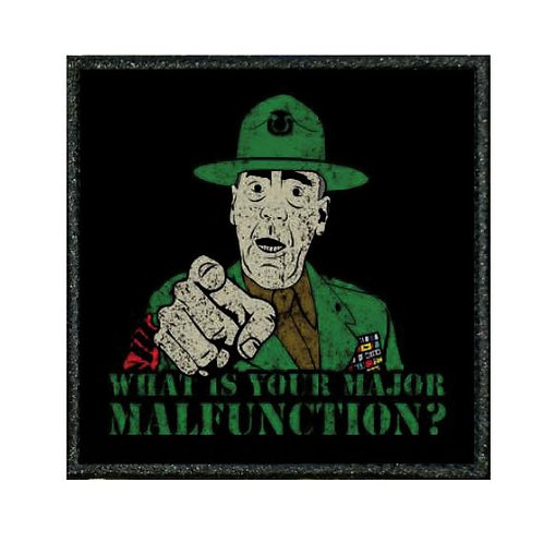 THERMAL VINYL PATCH - FULL METAL JACKET SGT HARTMAN
