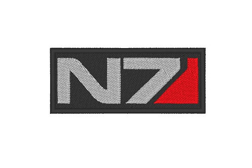 EMBROIDERED MASS EFFECT N7 PATCH