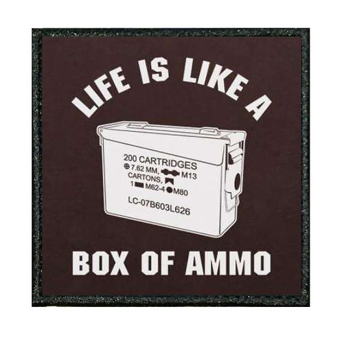 THERMAL VINYL PATCH - DUKE NUKEM BOX OF AMMO