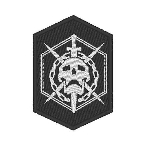 GAME - COSPLAY PATCH - DESTINY RAID SKULL