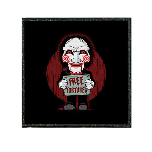 THERMAL VINYL PATCH - JIGSAW FREE TORTURES