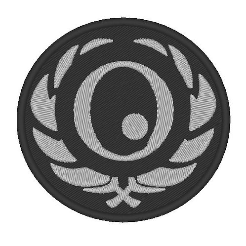 GAME - COSPLAY PATCH -SOMA OMICRON BADGE