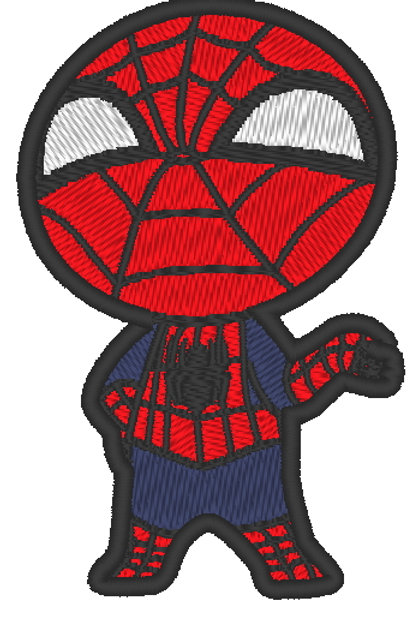 EMBROIDERED MORALE PATCH -CHIBI SPIDERMAN