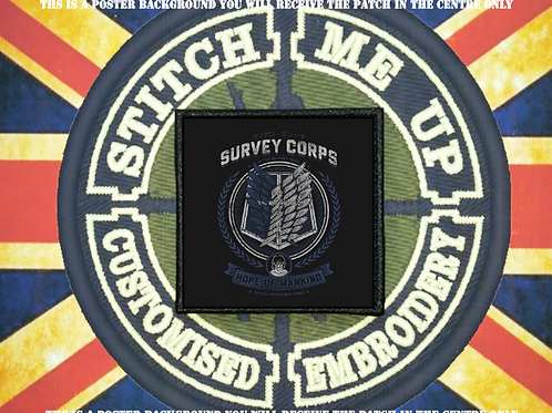 ATTACK ON TITAN PATCH SURVEY CORPS