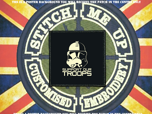 STAR WARS PATCH SUPPORT OUR TROOPS